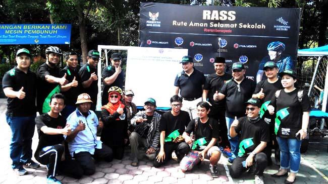 Tekan Angka Kecelakaan Pelajar, Dishub Kota Kediri Launching RASS