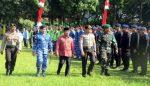 Peragaan Pengamanan Pilkada 2018 DipiMpin Kapolres Jombang