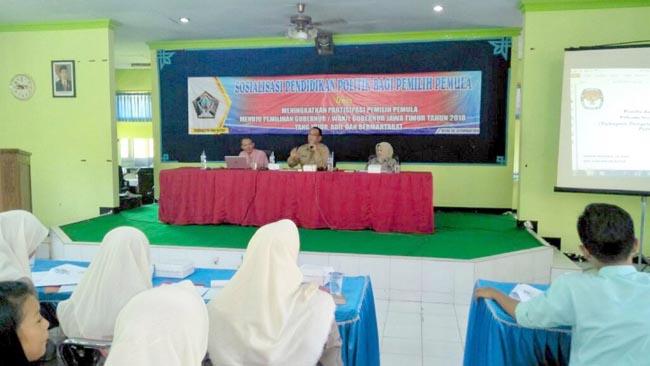 Bakesbangpol Kabupaten Blitar Gelar Pendidikan Politik bagi Pemilih Pemula