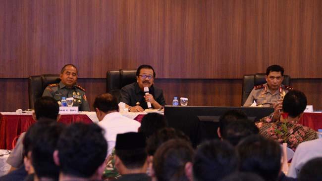 Gubernur Tekankan Guyub Rukun di Jawa Timur Sukseskan Pilkada Serentak