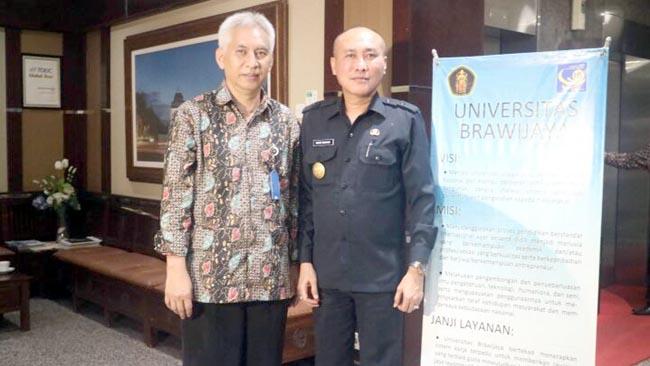 Hari Pertama Kerja, Pjs Walikota Malang Silahturahmi ke Forkompinda