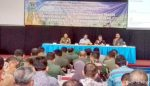Pasi Teritorial Kodim 0818 Nara Sumber Rakor Perkembangan Tanaman Pangan