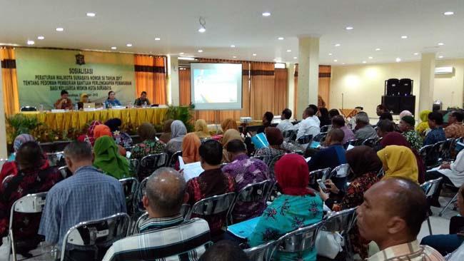 Pemkot Surabaya Gencar Sosialisasi Pedoman Pemberian Bantuan Pemakaman Bagi Keluarga Miskin