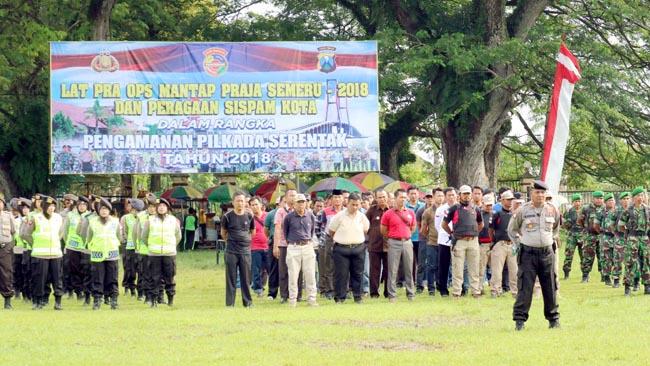 Polres Bangkalan Simulasi Mantap Praja Semeru