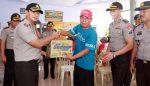 Terobos Banjir, Polresta Pasuruan Beri Bantuan Medis