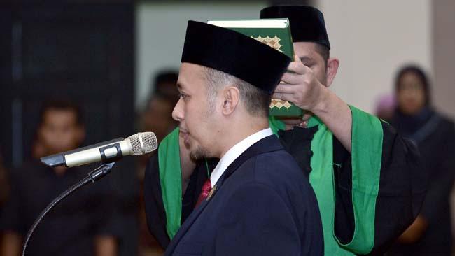 Debby Kurniawan Resmi Jadi Ketua DPRD Lamongan