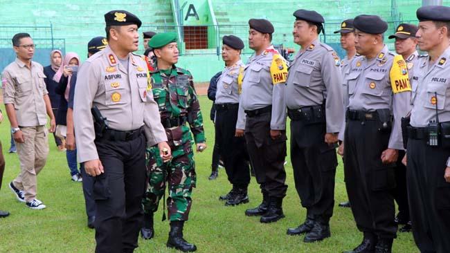 Kerahkan 616 Anggota, Polri Bermalam Jaga TPS se Kota Malang