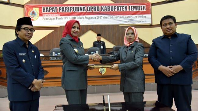 DPRD dan Pemerintah Kabupaten Jember Sepakati Tiga Perda