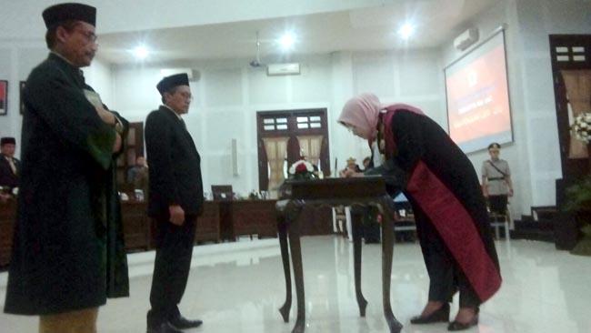 Abdulrohman Resmi Gantikan Zaenuddin, Paripurna DPRD Kota Malang