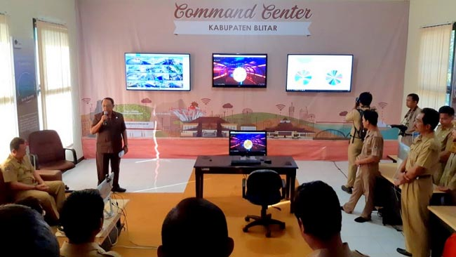Bupati Blitar Hadiri Soft Opening Layanan Command Center