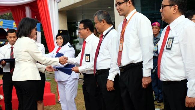 Kanwil DJP Jatim II, Raih Penghargaan Terbaik dari Menkeu