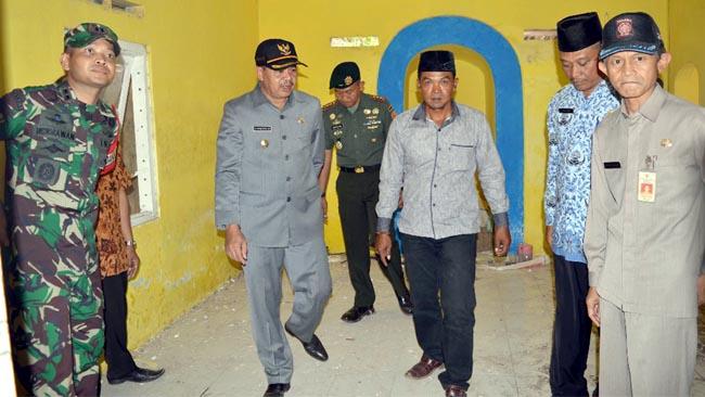 Musholla Al Mukminin Desa Jembul Sasaran Renovasi Satgas TMMD Ke-102
