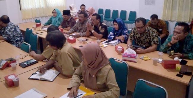 Komisi B DPRD Lamongan melakukan kunjungan ke Kantor Dinas Pertanian dan Pangan Kota Yogyakarta upaya meningkatkan inovasi mutu pangan di Lamongan