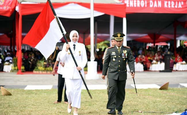 Bupati Faida : Isi Kemerdekaan dengan Pembangunan, Raih Kejayaan Bangsa