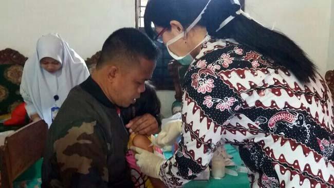 Pelaksanaan ORI Difteri II di Lamongan Capai 86,49 Persen