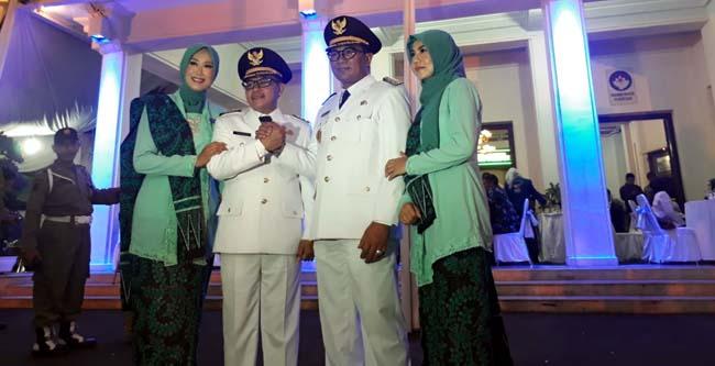 Sutiaji-Edi, Wali Kota dan Wakil Wali Kota Malang 2018-2023. (gie)