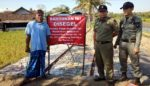 Pol PP Pasang Papan Larangan Mendirikan Bangunan di Atas Tanah Negara