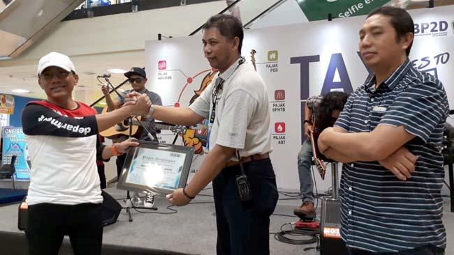 Tax Goes To Mall  BP2D, Tanamkan Sadar Pajak ke Pengunjung Matos
