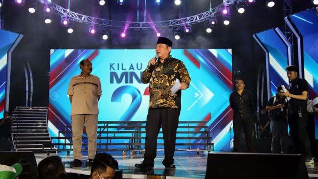 Dipenuhi Puluhan Ribu Penonton, Bupati Sidoarjo Buka Pesta Kemilau Raya HUT MNCTV ke 27