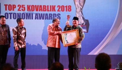 Sidoarjo Raih Penghargaan Top 25 Kovablik 2018