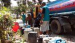 Plosoklaten Mulai Kekeringan, BPBD Dropping Air Bersih
