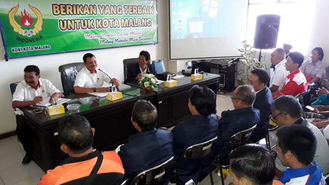 Bangun Prestasi Cabor, KONI Buleleng Kunjungi KONI Kota Malang