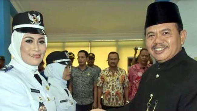 Tujuh Kades Resmi Dilantik Wakil Bupati Mojokerto
