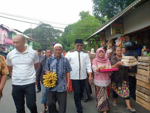 Wawali Hantarkan Pedagang Pasar Klojen Boyongan