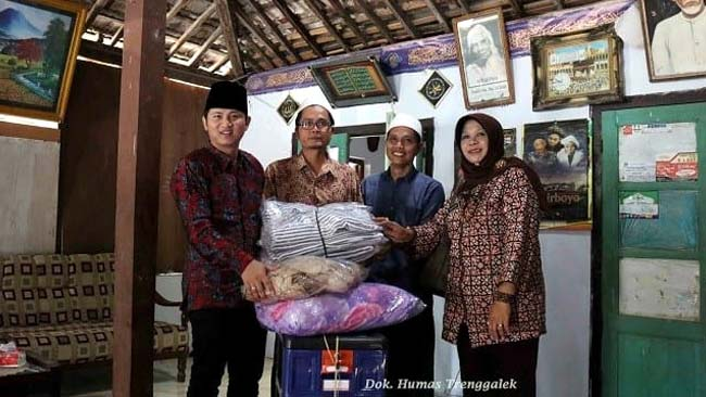 Peduli ODGJ, Wabup Arifin Kunjungi Ponpes Hidayatul Mubtadiin
