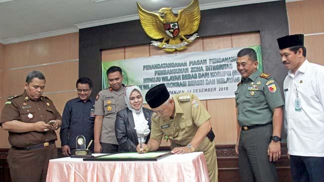 Pemkab Malang Dukung Pencanangan Zona Integritas Wilayah Bebas Korupsi