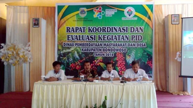 Tingkatkan Kualitas Penggunaan DD, DPMD Bondowoso Kumpulkan Pendamping
