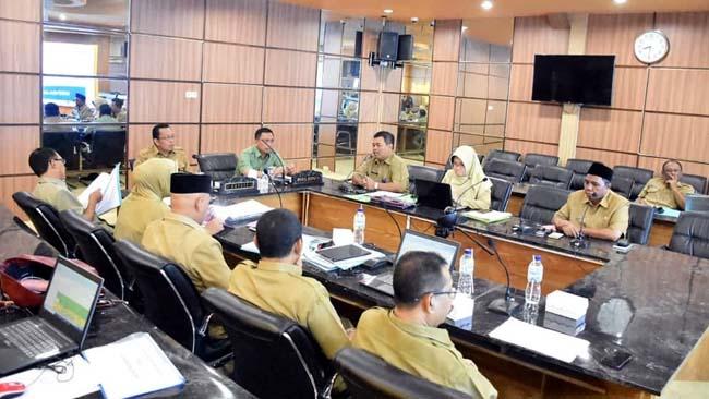 Bupati Situbondo Evaluasi Kinerja OPD 2018