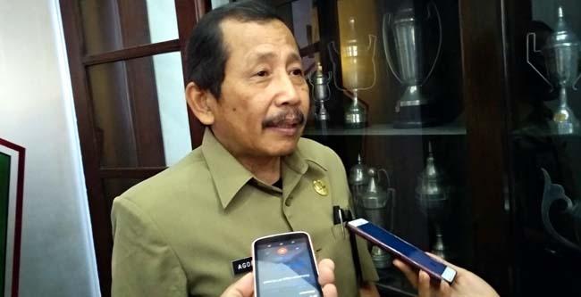 Kepala DLH Kota Malang Agoes Edy Poetranto. (rhd)
