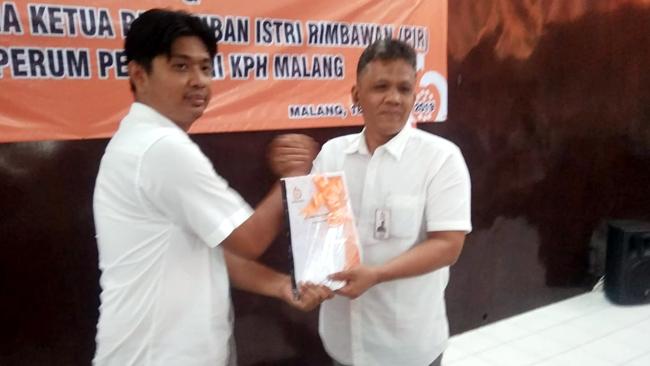 Ini Pesan Errik Alberto, ADM Perhutani KPH Malang Dalam Serah Terima Fisik Administratur Madya