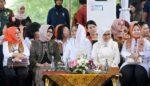 Ny Iriana dan Ny Mufidah Jusuf Kalla Sambangi Banyuwangi