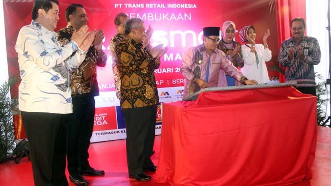 Walikota Malang Resmikan Transmart MX Mall Malang
