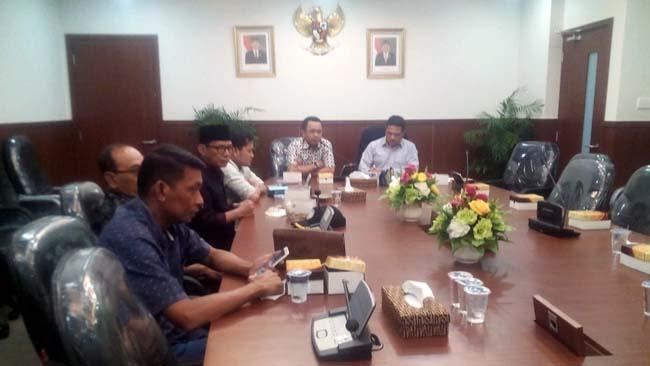 Komisi IV DPRD Banyuwangi Konsultasi Sistem Bantuan Bencana Alam ke Badan Keahlian DPR RI