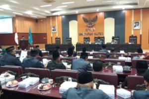 DPRD Kab Blitar Sepakati Bahas Empat Raperda Inisiatif