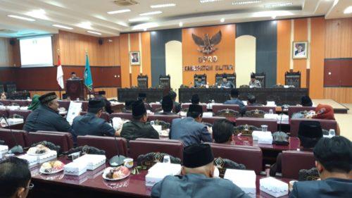 Rapat Paripurna Khusus DPRD Kabupaten Blitar