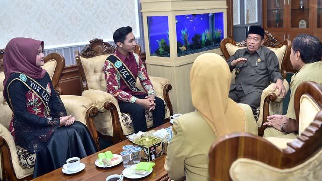 Lamongan Kirim Dua Putera Puteri Terbaik di Ajang Pemilihan Raka Raki Jawa Timur 2019