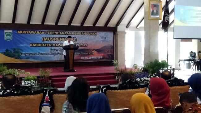 Musrenbang Pemkab Malang Tentang Penyusunan RKPD Tahun 2020