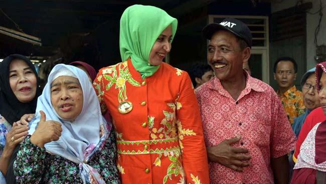 Dr Faida Tak Akan Tolerir Oknum Praktek Jual Beli Kios Baru