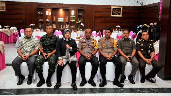 Sinergi Forpimda Surabaya Wujudkan Pemilu Aman dan Kondusif