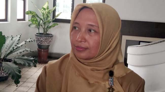 Plt Kepala Dinas Perumahan dan Pemukiman Rakyat (Disperkim) Kota Malang, Dyah Ayu Kusumadewi. (rhd)