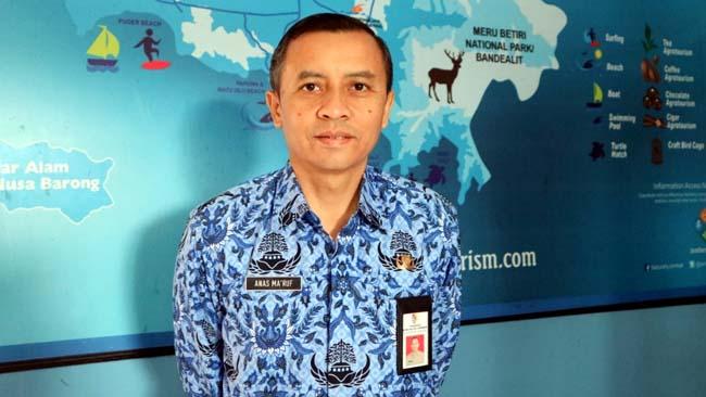 WISATA : Kadis pariwisata dan Kebudayaan Anas Ma'ruf. (ist)