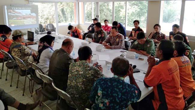 BPBD Kota Batu dan Instansi Terkait Gelar Rakor Kaji Cepat Antisipasi Dampak Kemarau Panjang