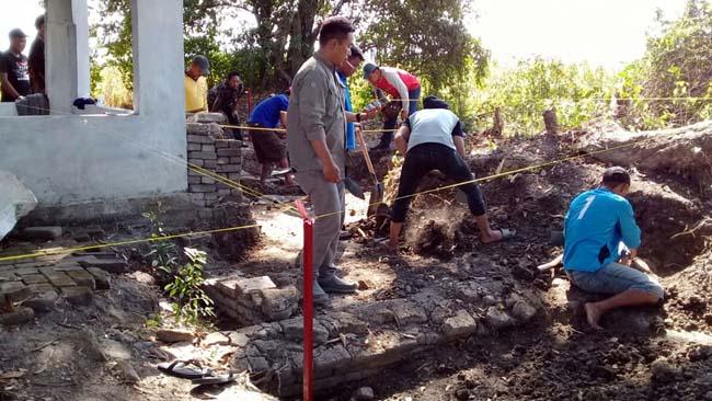 Diyakini Petilasan Kahuripan, BPCB Ekskavasi Temuan Situs Watesari - Balongbendo