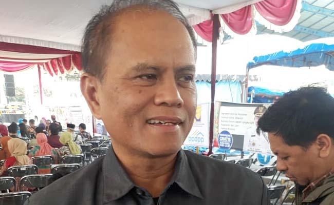 Wayu Setianto, kepala Dinas perdagangan Kota Malang. (gie)