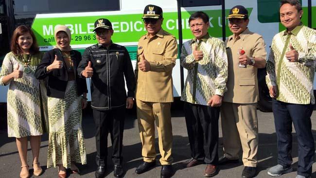 Jajaran pimpinan Pemkot Malang dan Persada Hospital. (ist)