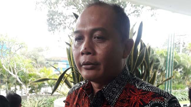 I Made Rian, ketua DPC PDIP Kota Malang. (gie)